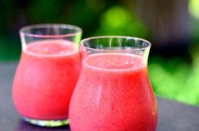 Strawberry Watermelon Slushie