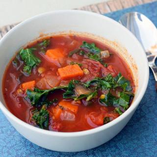 Kale-lentil-sweet-potato-soup